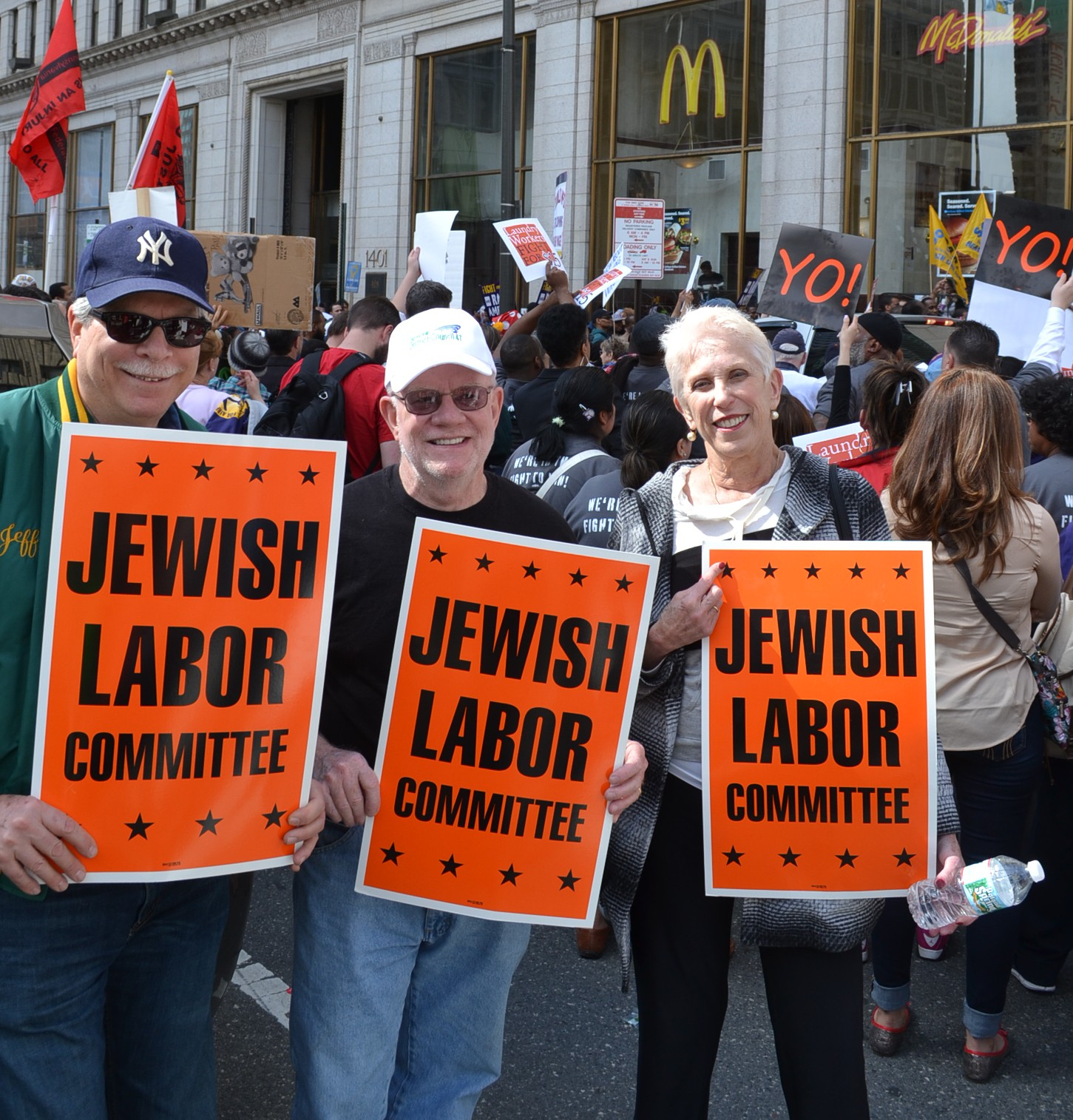 Labor Seder Fast Food Strike - April 2015